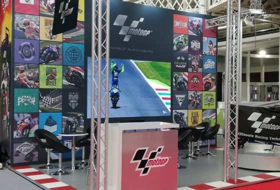 Moto GP Brand Licensing Europe Olympia 2018